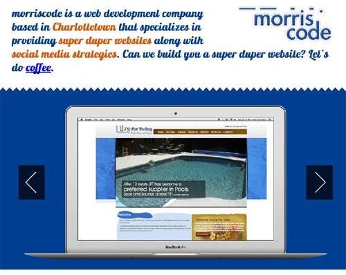 The Blog of John Morris :: morriscode web developer and social media